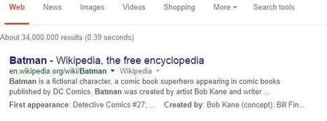 Google met en avant les snippets structurés dans ses résultats   ma curation2web   Scoop.it