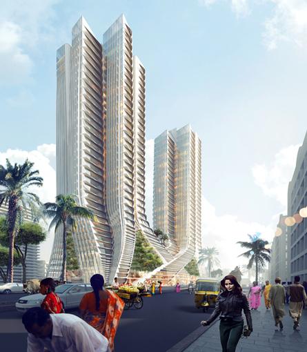India Art n Design inditerrain: Grove Towers, Mumbai | Architecture and Sculptures | Scoop.it
