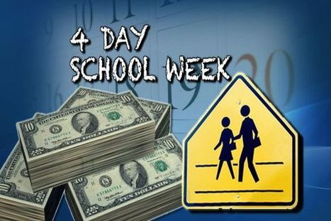 four day school week 22092018 students in about 100 schools in 10 states attend classes 4 days a week, for all or part of the school year a growing number of rural schools, faced with.