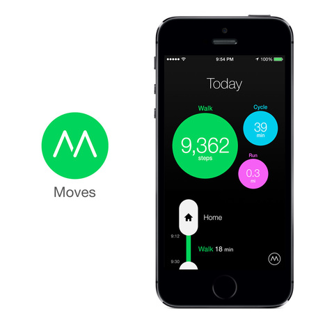 Moves - Activity Diary for iPhone and Android | Learning is Life | Scoop.it