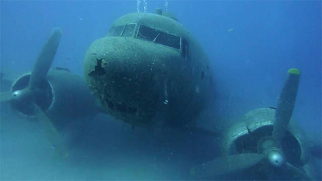 Sunken World War II Plane Turned Into Scuba Playground | All about water, the oceans, environmental issues | Scoop.it