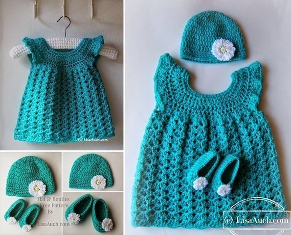 Free Crochet Pattern Baby Gifts : 16 Free Crochet Patterns for Baby Gift Sets S...