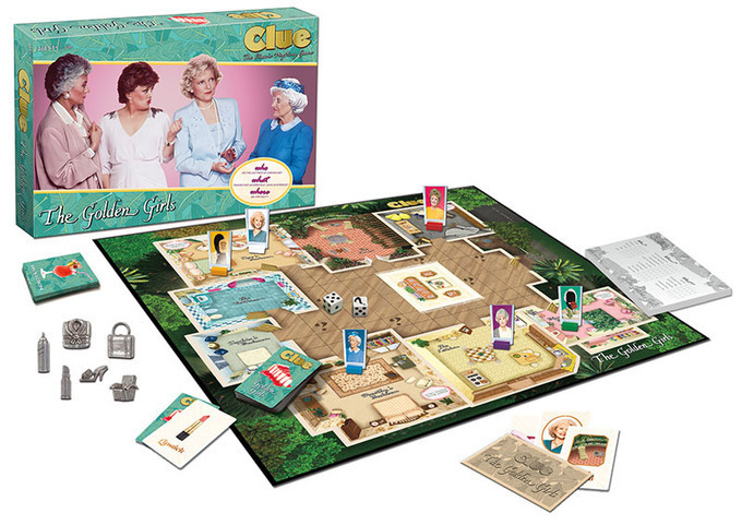 """It was Sophia in the kitchen with the cheesecake!"" The Golden Girls-themed edition of Clue is here"