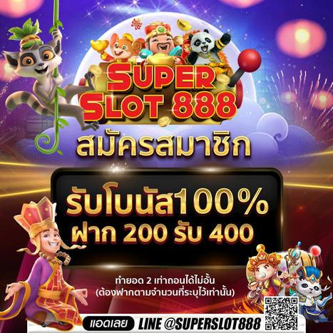 แจกโบนัส 100% สล็อตออนไลน์ เกมยิงปลา | superslotslotxo | Scoop.it