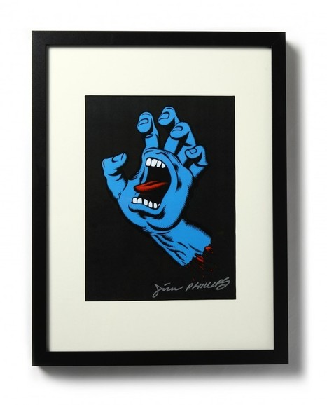 Jim Phillips Screaming Hand Drawing Contest - Transworld Skateboarding | Contests and Games Revolution | Scoop.it