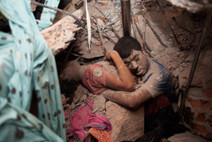 A Final Embrace: The Most Haunting Photograph from Bangladesh | LightBox | TIME.com | Social Studies 7 Resources | Scoop.it