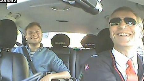 Le premier ministre norvégien joue les chauffeurs de taxi | Lyon ma Ville | Scoop.it