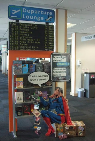 Library Displays | Library-related | Scoop.it