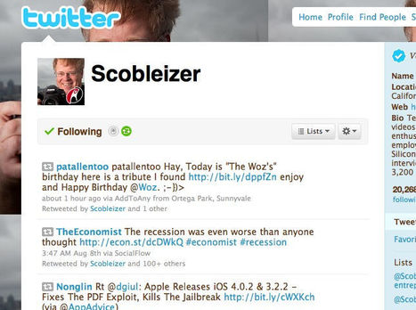 Robert Scoble On Online Curation - HowardRheingold on blip.tv | The Search Revolution: Content Curation | Scoop.it