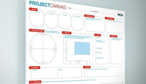 Project Canvas: de brug tussen concept en uitvoering | bedenk.be | Innovatie | Scoop.it