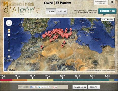Mémoires d'Algérie | All about Data visualization | Scoop.it