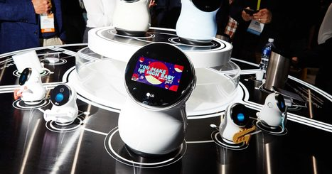 Meet LG's Adorable Voice-Activated Robot for Your Home | qrcodes et R.A. | Scoop.it
