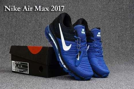 Nike Air Max 2017 3 Black Blue Men (40-47)  nikeairmax2017- 7e3d1d613