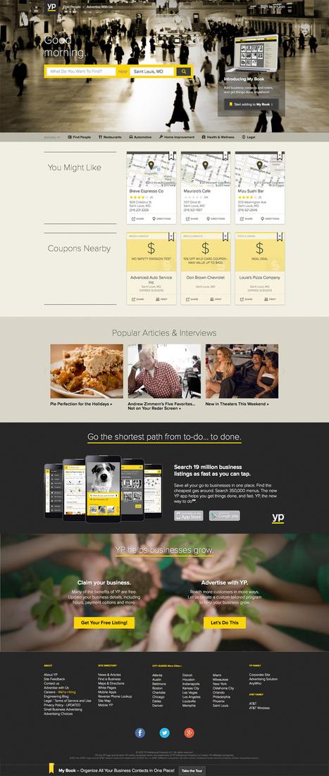 Applying App Design Concepts to Website Design   Codrops   Web Site Design   Scoop.it