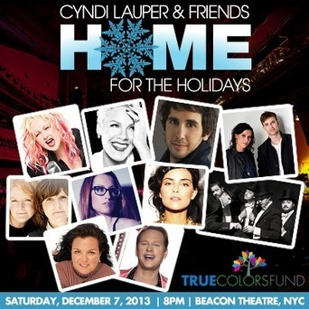 Cyndi Lauper & Friends: Home for the Holidays | notstraight.com | Scoop.it