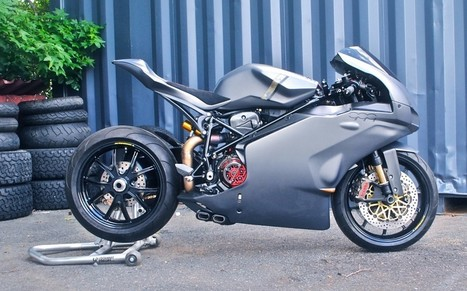 Builder Interview: AreteAmericana 999 Italia | Vicki's View Blog on Ducati.net | Desmopro News | Scoop.it