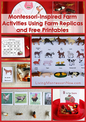 Free Farm Printables and Montessori-Inspired Farm Activities Using Replicas and Printables | Montessori Inspired | Scoop.it