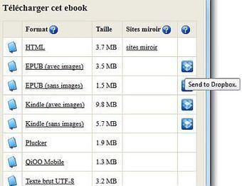 Télécharger des ebooks gratuits en français directement dans sa Dropbox | DEPnews développement personnel | Scoop.it