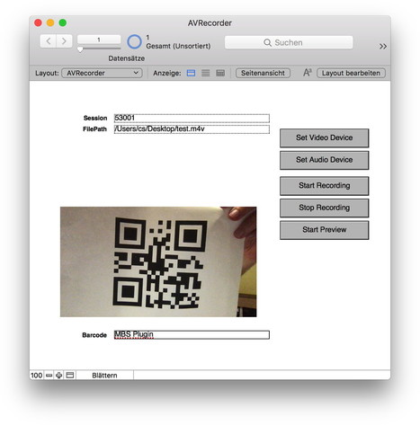 MBS Blog - Live barcode reading for FileMaker o
