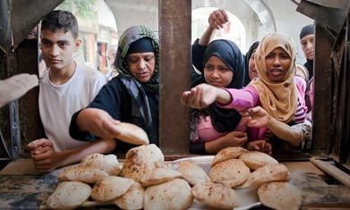Egypt's gathering economic gloom leaves millions facing food shortages | Food Security | Scoop.it