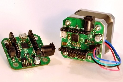uStepper is an Arduino-compatible board with an integrated stepper driver | Atmel | Bits & Pieces | Raspberry Pi | Scoop.it