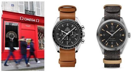Omega   un pop-up store dans le marais pour les bracelets Nato 7bb5d94c654