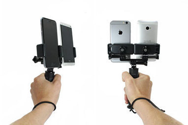5 Dual Smartphone Holders: Record Video for 2 Platforms, In 2 Directions | Working Stuff | Scoop.it
