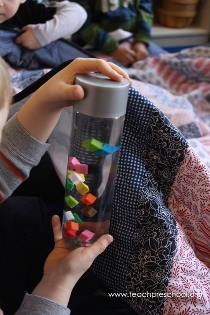 Put your favorite children's book in a discovery bottle!   Learning and Teaching Literacy   Scoop.it