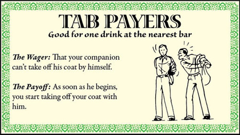 Tab Payers: 12 Classic Ways to Get a Friend to Buy You a Drink | The Art of Manliness | Fitzy's Fodder | Scoop.it