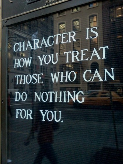 Character... | Quote for Thought | Scoop.it