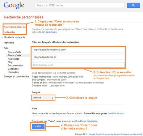 Moteur de recherche personnalisé personnalisé sur Google | François MAGNAN  Formateur Consultant | Scoop.it