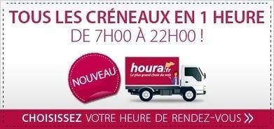 Houra.fr lance la livraison en 1 h | Cross canal | E-Marketing | Scoop.it