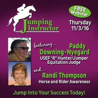 """Randi Thompson - """"Attention Jumping Instructors! Check... 