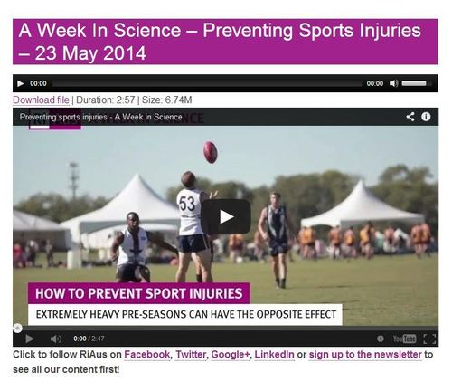 Women: Avoid Sports Injuries