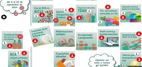 Convocatoria de cursos de Formación en Red del INTEF, segunda edición de 2014 | Blog de INTEF | De interés educativo | Scoop.it