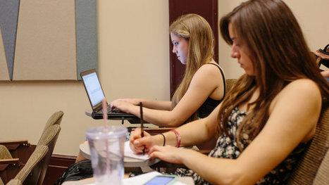 Some Universities Crack Code in Drawing Women to Computer Science | Tech-Girls | Scoop.it