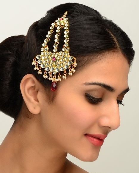 Indian Bridal Head Jewellery Indian Hair Jewelry Online In