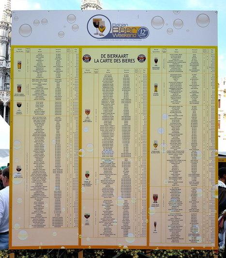 Week end de la bière belge, la carte | Bières belges | Scoop.it