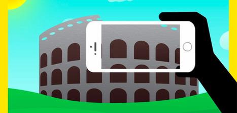 Une application smartphone qui redonne vie aux monuments endommagés | Habillage Urbain | Scoop.it