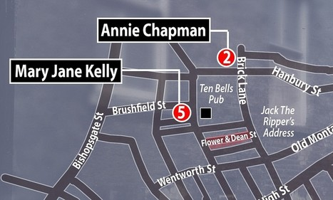 Geographic profiling pinpoints street where Jack the Ripper lived | British Genealogy | Scoop.it