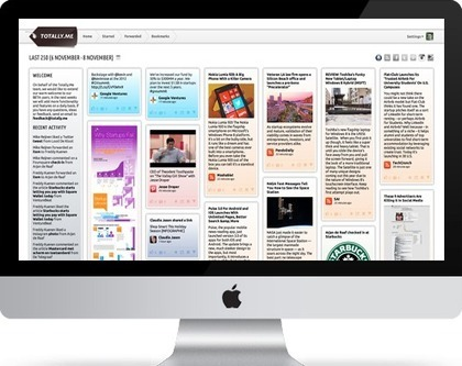 Totally.Me - Visualize and Personalize your Social updates, News headlines and Bookmarks | Social Media | Scoop.it