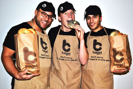 Bagel Corner vise 100 restaurants en 2020 | finger food | Scoop.it