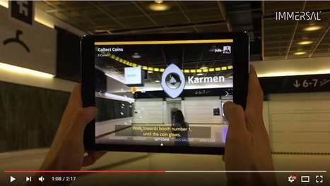 Matkamessuilla voi kulkea lisätyssä todellisuudessa – Messukeskus otti AR-sovellukset näin laajaan käyttöön maailman ensimmäisenä | Augmented Reality & VR Tools and News | Scoop.it