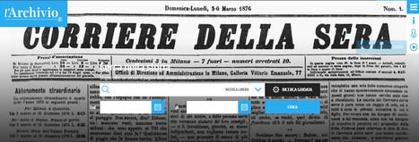 "Archivio digitale ""Corriere della Sera"" | Généal'italie | Scoop.it"