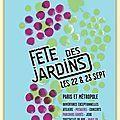 La fête des Jardins c'est samedi 22 et dimanche 23 septembre 2012 - Lutetia : une aventurière à Paris   Paris Secret et Insolite   Scoop.it