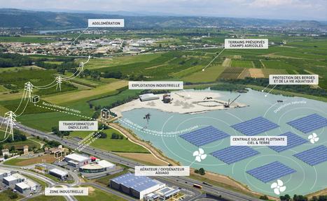 ciel & terre : Hydrelio : La centrale solaire flottante | Energie : Résistances et Alternatives écologiques | Scoop.it