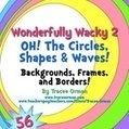 Wonderfully Wacky Designs 2: Oh, The Circles Clip Art | Clip Art for Commercial Use | Scoop.it
