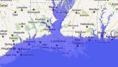 Flood Map Water Level Elevation Map | Geotechnobabble | Scoop.it