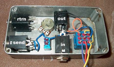 DIY True Bypass/Feedback Loop (aka KROK) | DIY Music & electronics | Scoop.it