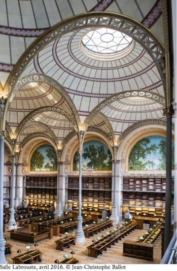 À l'INHA, une bibliothèque pour l'histoire de l'art | La vie des BibliothèqueS | Scoop.it